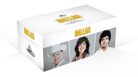 Dallas: The Complete Collection DVD (Seasons 1-14 + 3 Movies)