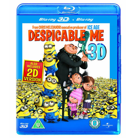 Despicable Me 3D (2 Discs) [Blu-ray]