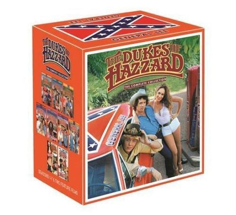 The Dukes Of Hazzard The Complete TV Series Season + 2 MOVIES DVD