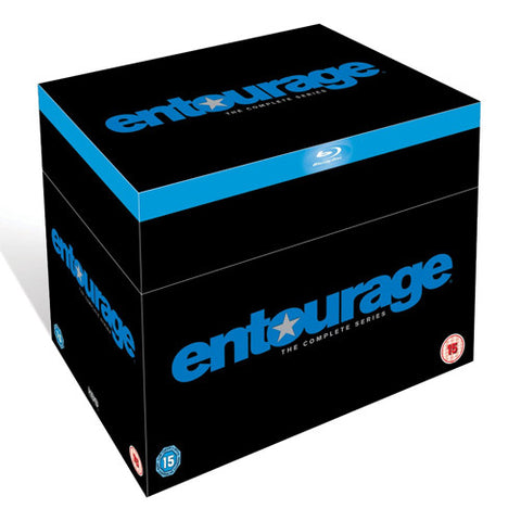 Entourage Complete Seasons 1-8 Blu-Ray 1 2 3 4 5 6 7 8