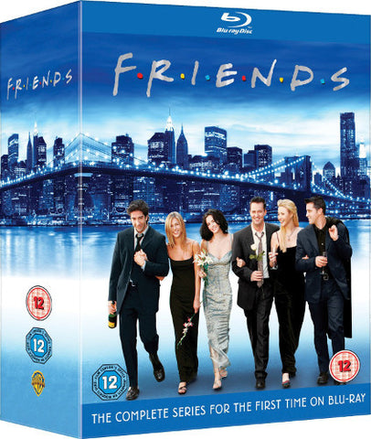 Friends Complete Series [Blu-Ray] Seasons 1-10