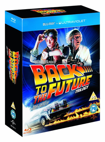Back to the Future Blu-ray Trilogy Box Set Collection