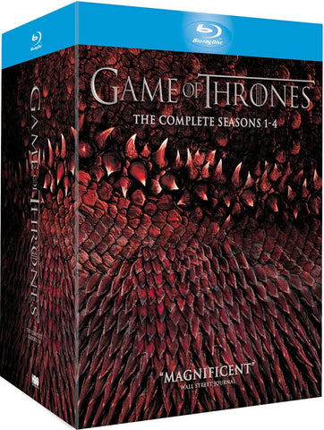 Game of Thrones Blu-ray Box Set 1-4