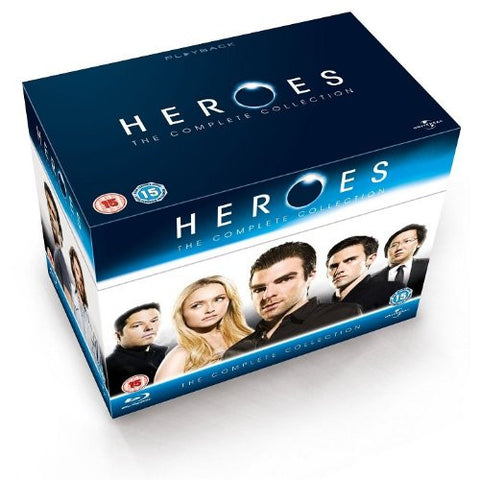 Heroes The Complete Collection [Blu-ray] Box Set