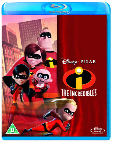 Disney Pixar The Incredibles Blu Ray Movie