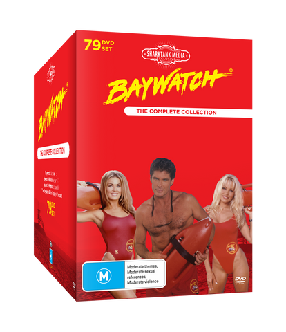 Baywatch Complete DVD Box Set Collection (SHARKTANKMEDIA EXCLUSIVE)