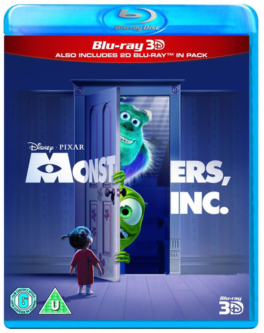 Monsters, Inc. (Blu-ray 3D + Blu-ray) [Blu-ray]