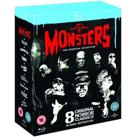 Universal Classic Monsters [Blu-Ray]: The Essential Collection Box Set (8 Discs)