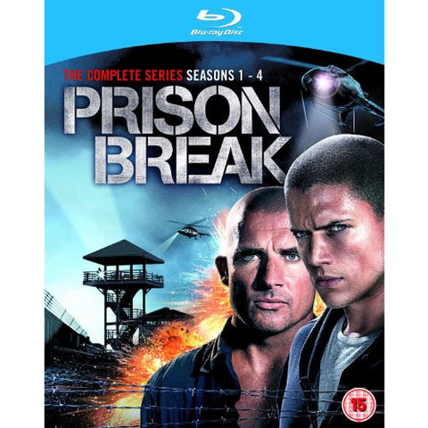 Prison Break The Complete Series :: Seasons 1 – 4 + The Final Break [Blu-Ray]