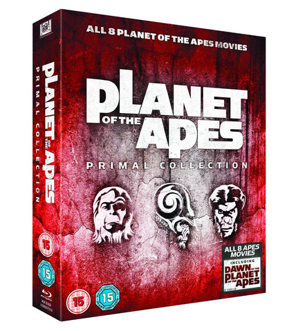 Planet of The Apes Box Set on Blu-ray