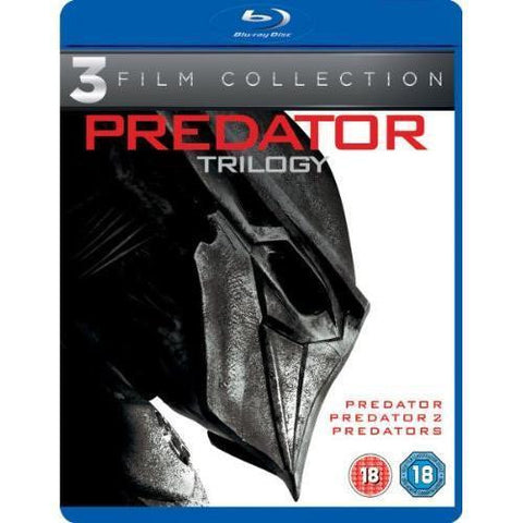 Predators Trilogy Blu-ray Collector's Set, Region-Free + Special Features