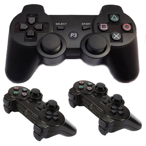 PS3 Playstation 3 Wireless Controllers (2 Pack)