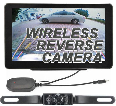 GPS Navigation & Wireless Reverse Bluetooth Backup Camera