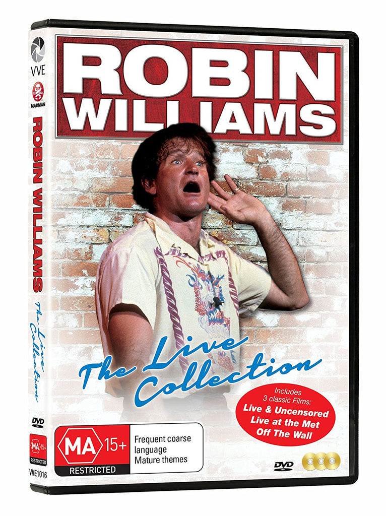 robin williams dvd collection