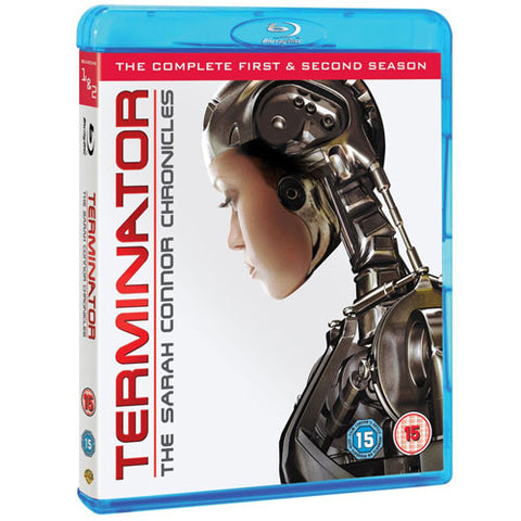 Terminator: The Sarah Connor Chronicles – Series 1 & 2 (8 Discs) (Blu-ray)