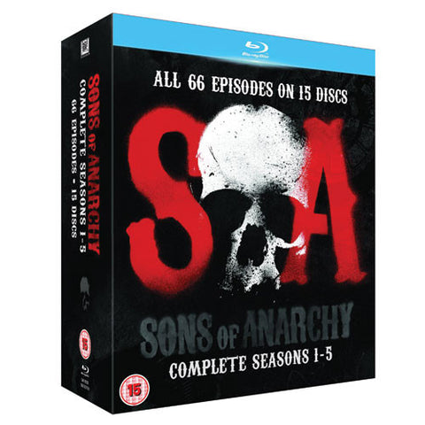 Sons of Anarchy Season 1 – 5 Blu-Ray Seasons 1 2 3 4 5 Complete Series