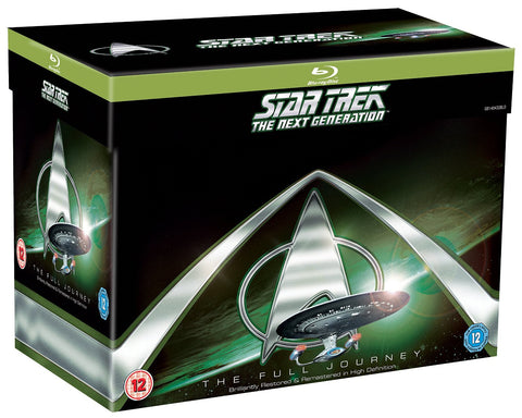 Star Trek The Next Generation Blu-ray Seasons 1-7 Complete