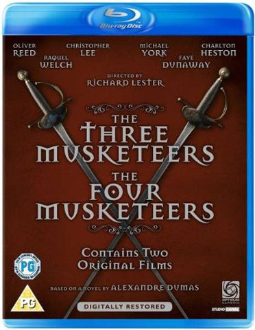 Three Musketeers / Four Musketeers NEW Classic Blu-Ray 2-Disc Set Richard Lester