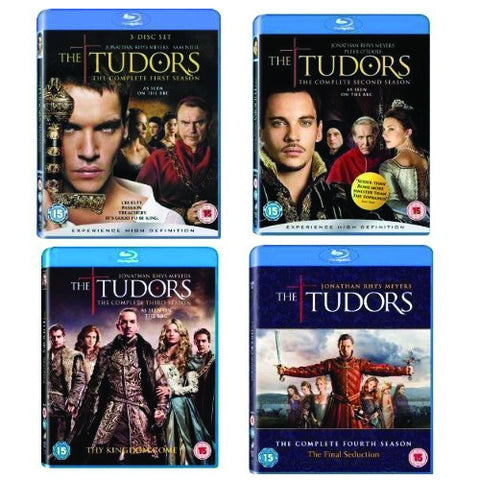 The Tudors Complete Seasons 1-4 Box Set 1 2 3 4 Brand New Blu Ray [Blu-ray]