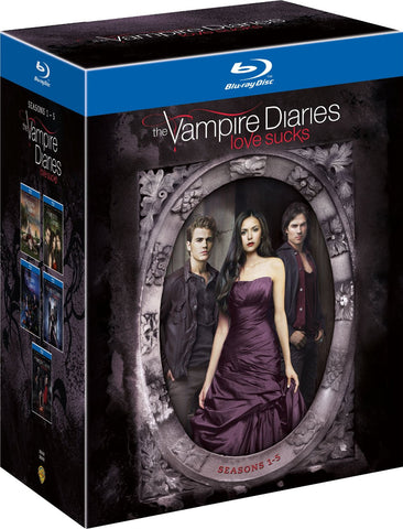 The Vampire Diaries - Season 1-5 [Blu-ray Box Set] 1 2 3 4 5