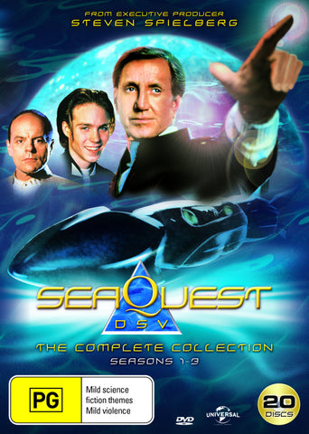SeaQuest Complete Box Set Collection Season 1 - 3 DVD
