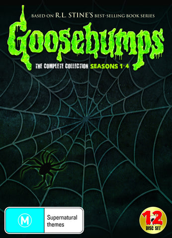 Goosebumps The Complete DVD Collection Seasons 1 - 4