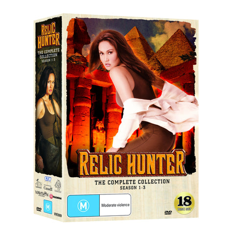 Relic Hunter Complete DVD Collection Seasons 1 - 3