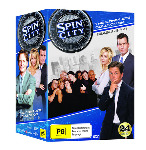 Spin City DVD Box Set Collection Complete Seasons 1 - 6