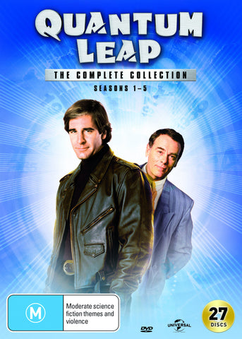 Quantum Leap Complete DVD Box Set Collection Series 1 - 5