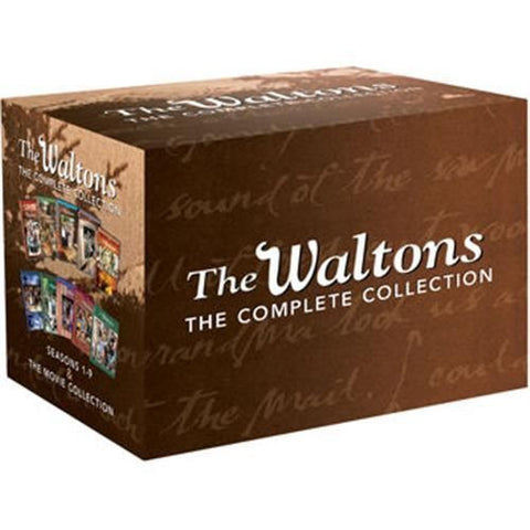 The Waltons DVD Complete Series Seasons 1-9 & The Movie Collection (10 Pack)