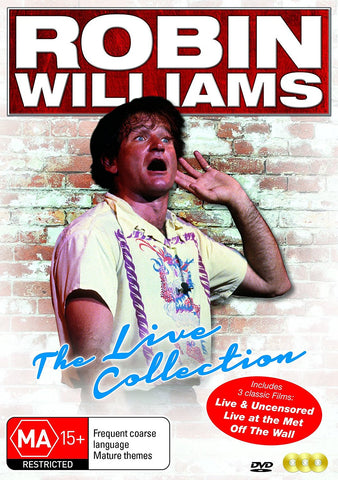 Robin Williams Stand Up Live Collection - DVD