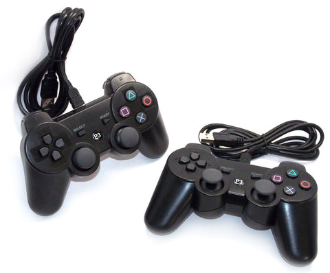PlayStation 3 WIRED Controllers (Pack of 2)