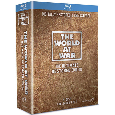 The World At War: The Ultimate Restored Edition 2010 [Blu-ray]