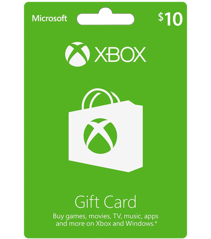 $10 Xbox Gift Card - [Digital Code]