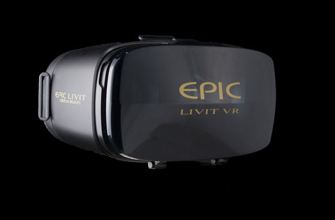 THE EPIC LIVIT ALL BLACK & GOLD ACCENT
