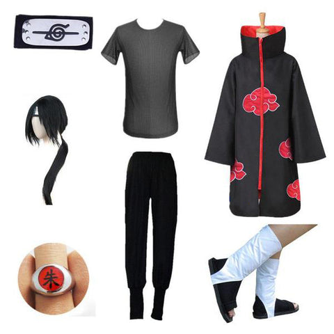 7 in 1 Itachi Costume