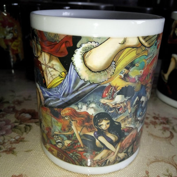 One Piece Color Changing Mug