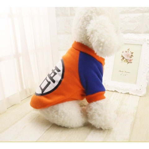 Goku Dog Sweater