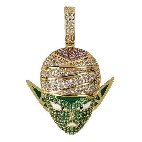14k Gold Plated Piccolo Pendant