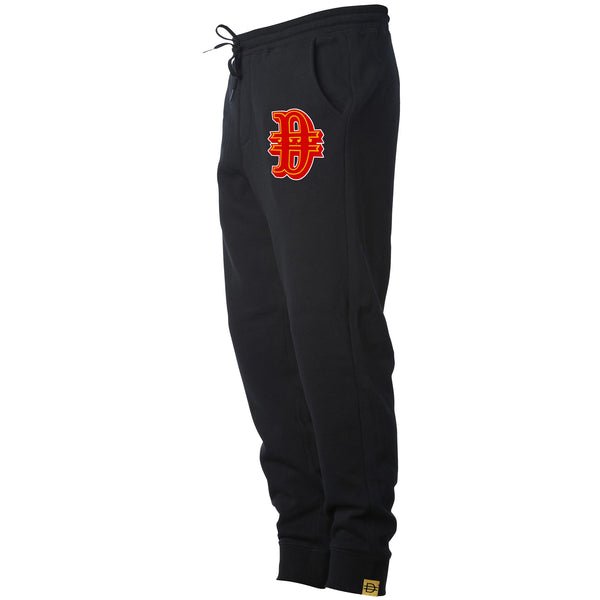 Gold Rush D Jogger - Black/Red/Gold