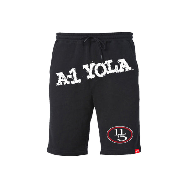 A-1 Yola Shorts - Black/White/Red