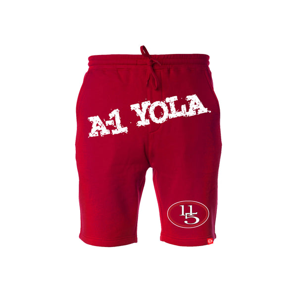 A-1 Yola Shorts - Red/White