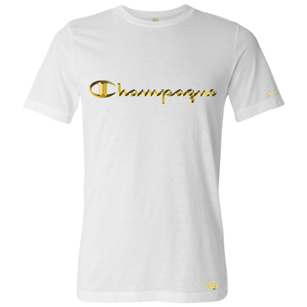 Champagne Champ - White - Gold Leaf