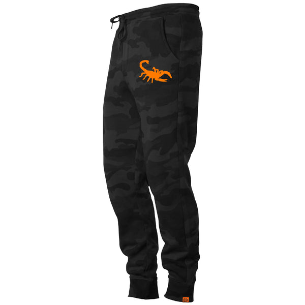 Scorpion Jogger - Black Camo/Orange