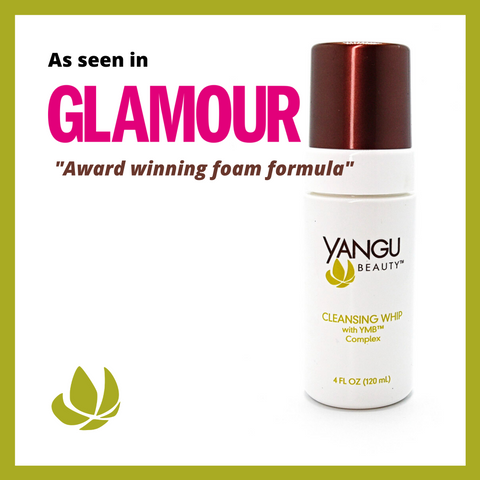 YANGU BEAUTY Best of Glamour Magazine- Natural Facial Cleanser Cleansing Whip