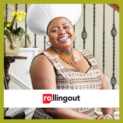 Rolling Out Article - Yangu Beauty creator Sipho Gumbo says women of color define her brand