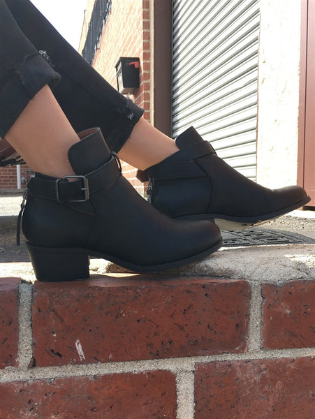 Buckle Bootie $54 Now