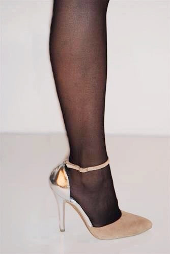 Black Semi-Sheer tights $10 Now