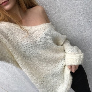 White Cozy Sweater Was $54
