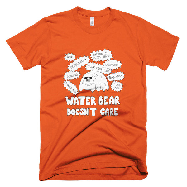 Water Bear Doesn't Care Men's Tee